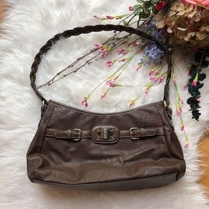 Rosetti Brown Leather Purse